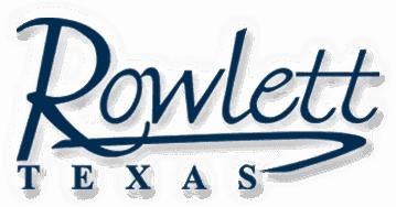 Rowlett Texas Logo